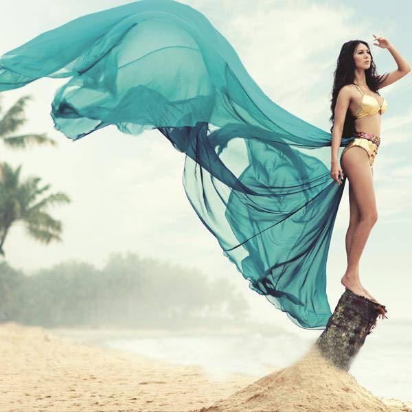 Rochelle Rao bikini photos