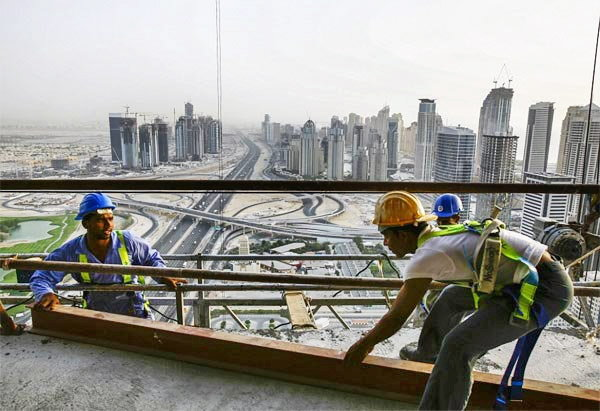 indian workers in dubai treated bad