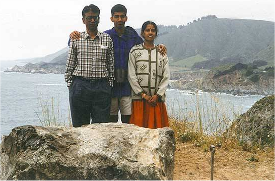 sundar pichai with parents