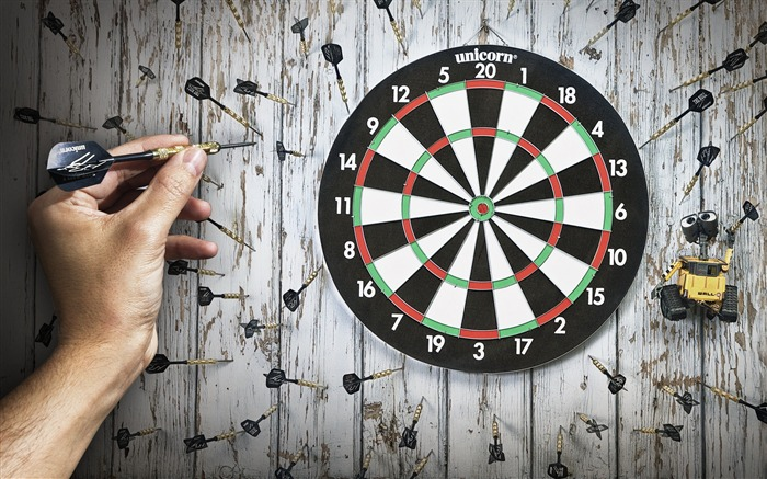 The Silly Game Of Darts