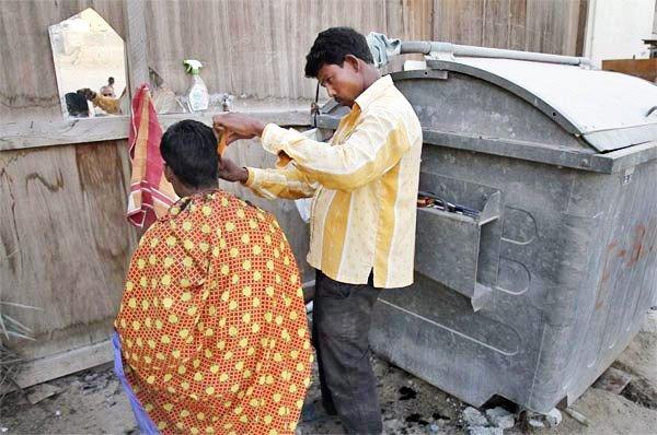 workers in sonapur dubai