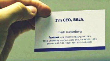 Famous Entrepreneur And Their Unique Business Cards