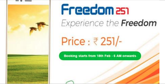 Ringing Bells has launched cheapest smartphone for Rs 251