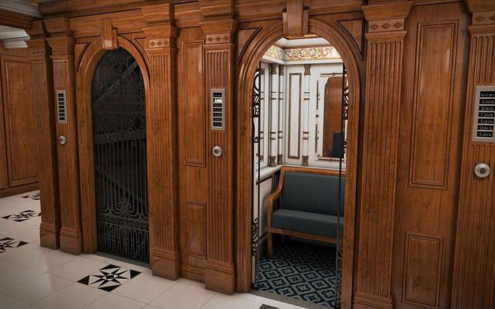 elevators in titanic 2