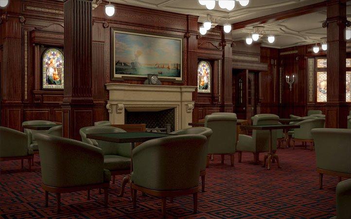 titanic 2 smoking room