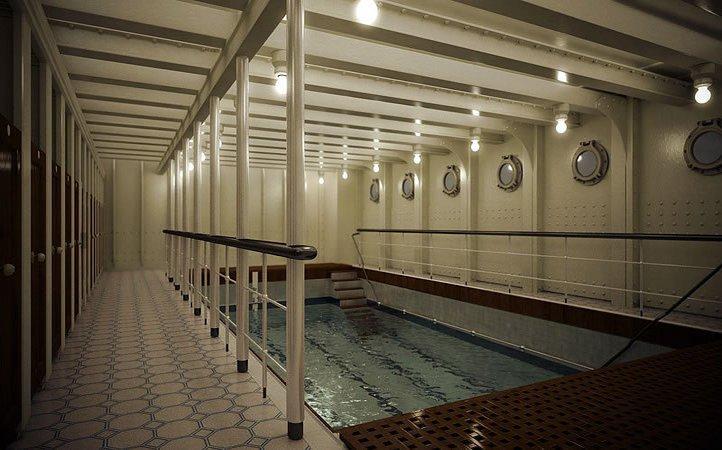 titanic 2 swimming pool