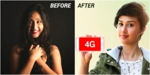 Airtel 4G Girl Sasha Chettri Mocks Her Own New Airtel 4G Ads