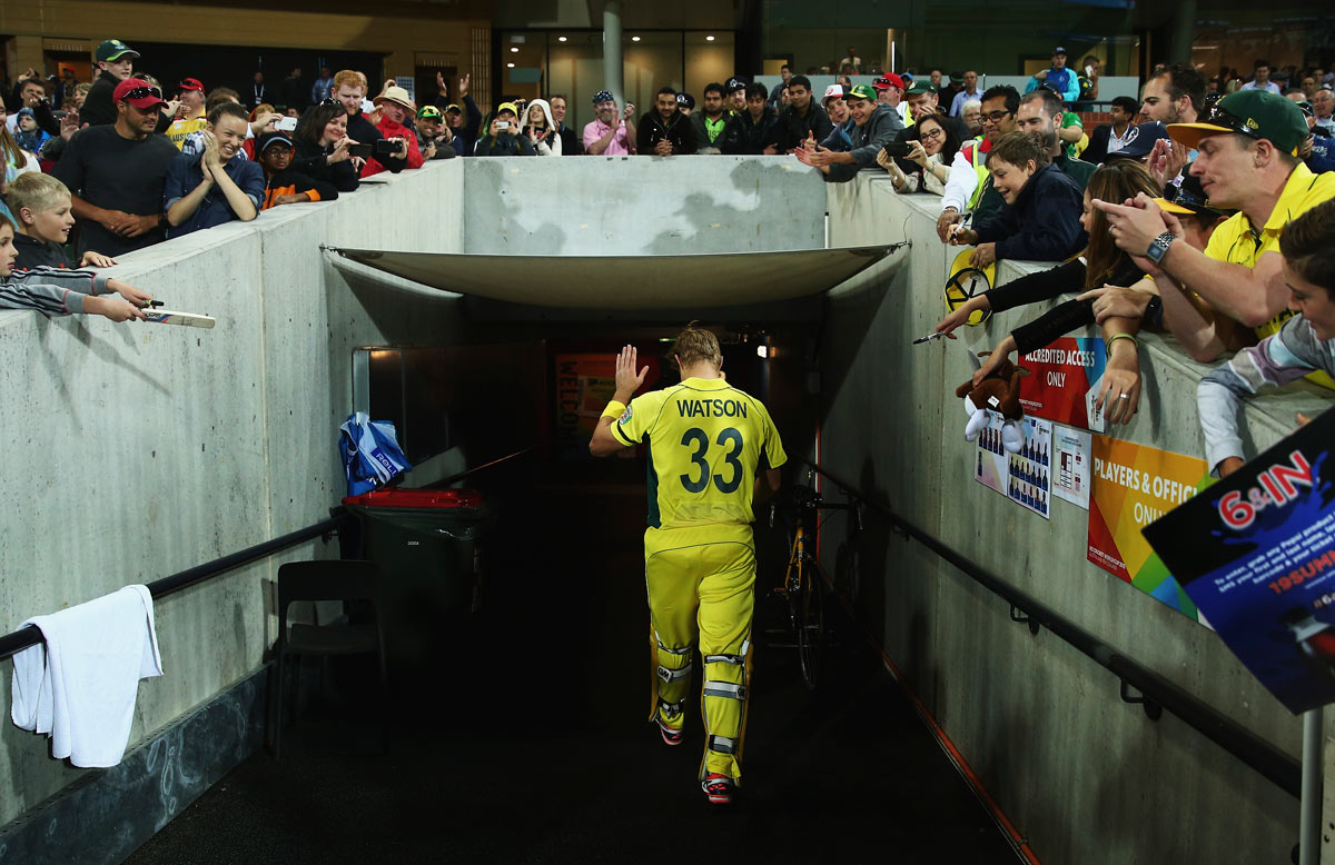 Australian all rounder Shane Watson Retires From international Cricket
