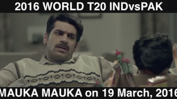 India vs Pakistan T20 World Cup 2016 Mauka Mauka Ad