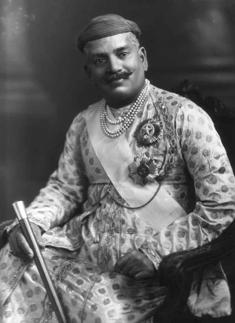 Sayajirao_Gaekwad_III,_Maharaja_of_Baroda,_1919