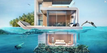 Floating Villas In Dubai With Underwater Bedrooms Is Beautiful