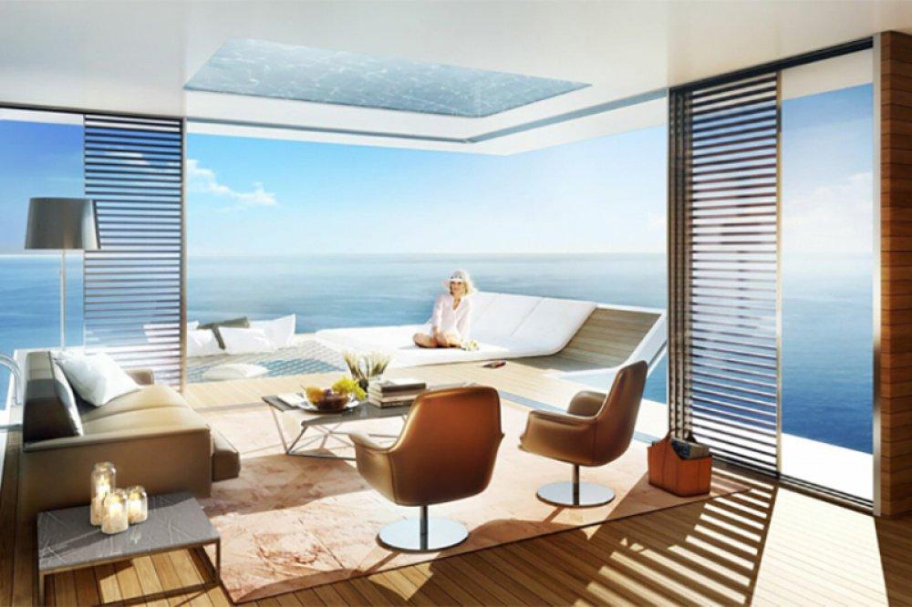 Floating Villas In Dubai With Underwater Bedrooms Is Beautiful