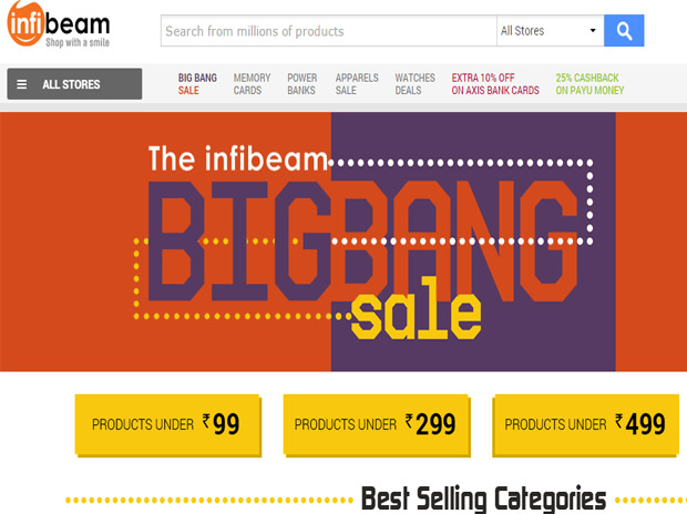 Infibeam - E-commerce Website To Make Its Debut On Dalal Street