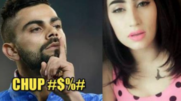 Checkout This Video In Which Qandeel Baloch Asks Virat Kohli To Leave Anushka Sharma