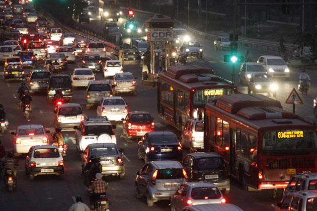If you can drive in Ahmedabad, then you can drive anywhere