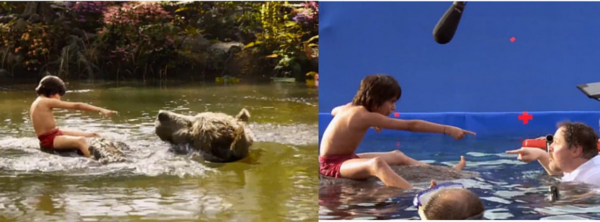 Checkout How The Jungle Book Looked Like Without The Hard Work Of VFX Artists