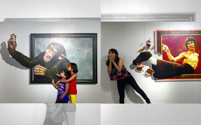 D Exhibition Art : Check out india s first interactive d art museum in chennai