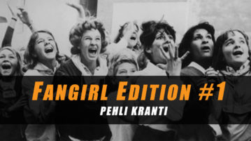 The first edition of Ahmedabad based music newsletter 'Fangirl' is utterly outstanding and the only one of its kind