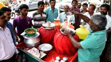 Man Distributes Buttermilk Free To Help Beat The Heat In Ahmedabad