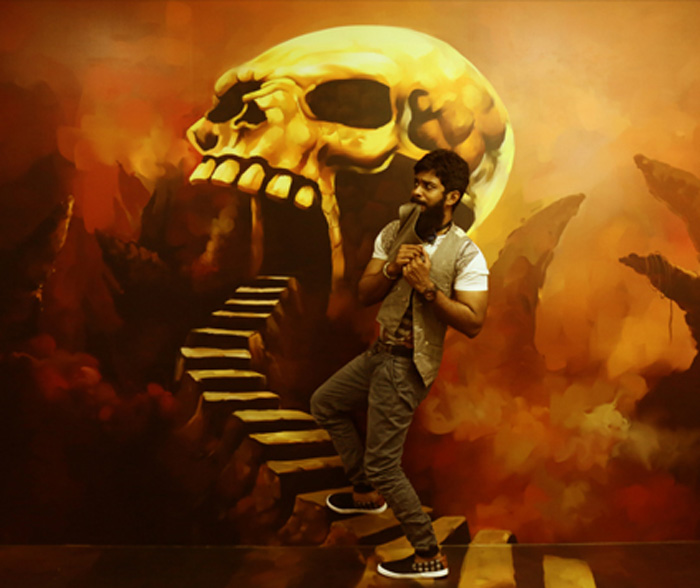 contemplate going inside the skull 3d museum in chennai
