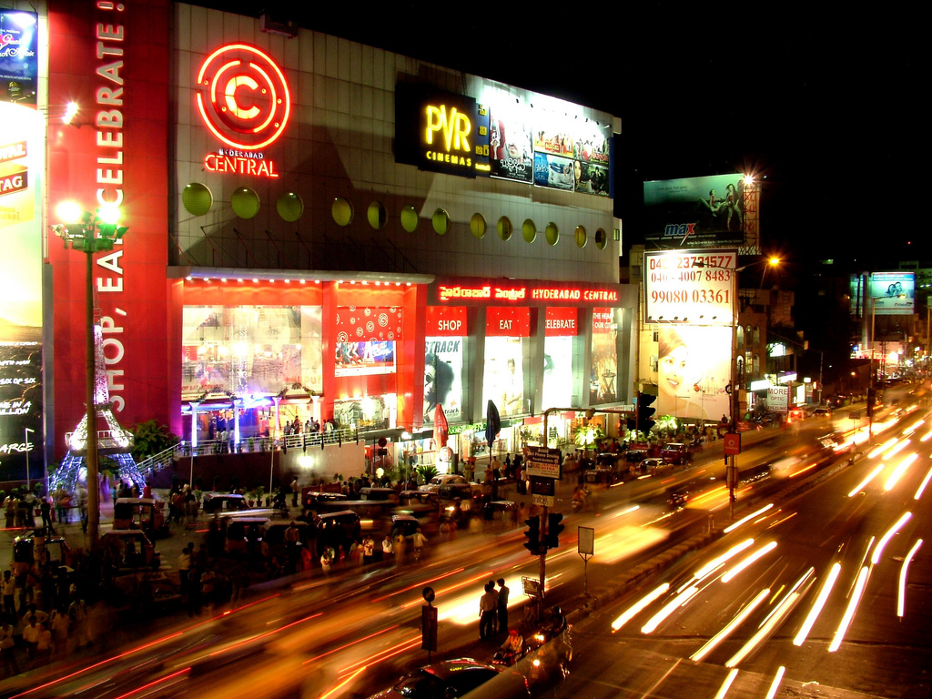 shopping in hyderabad