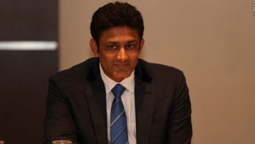 Anil Kumble Appointed As Coach Of Indian Cricket Team For The Next One Year