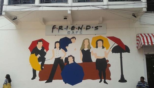friends cafe in kolkata