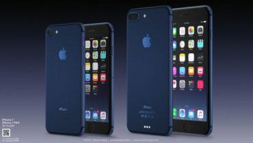iphone 7 deep blue color