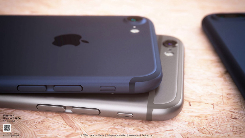 new iphone 7 in deep blue color