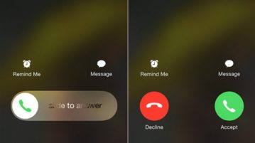 2 Options To Answer Phone Call On iPhone
