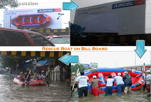 Aircel Emergency Lifeboat Stolen From Hoarding