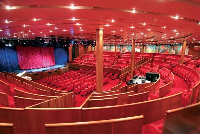 Auditorium of Costa neoClassica mumbai to maldives