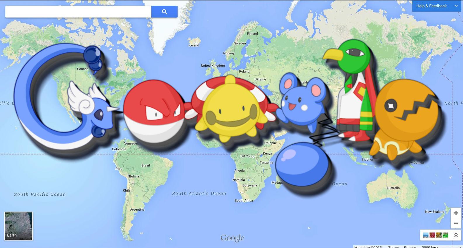 Google Maps Pokemon go