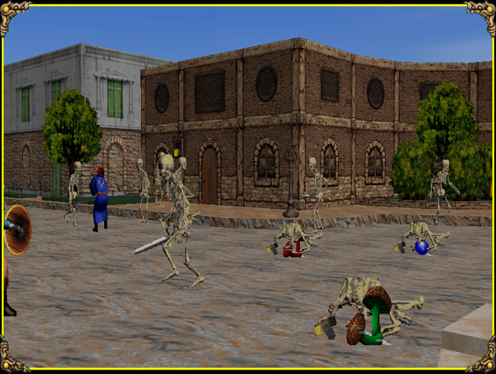 John co-created the very first MMO (massively multiplayer online game) called 'Meridian 59'