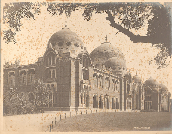 baroda college old photo