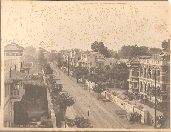 old view of Sayajigunj