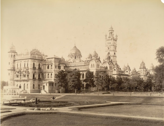 laxmi vilas palace - SE View 1890