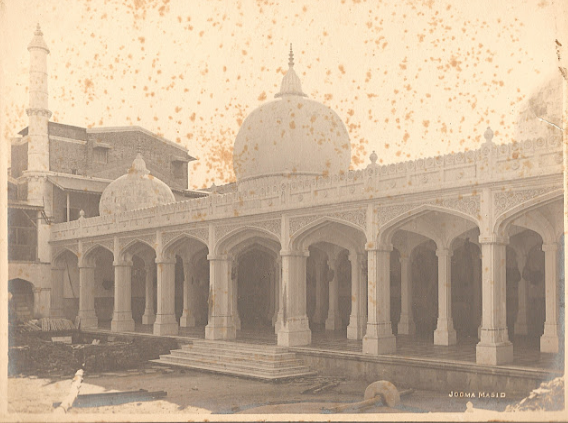 jumma masjid vadodara old photo