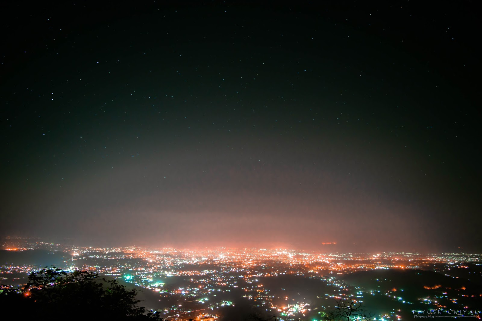dehradun night view
