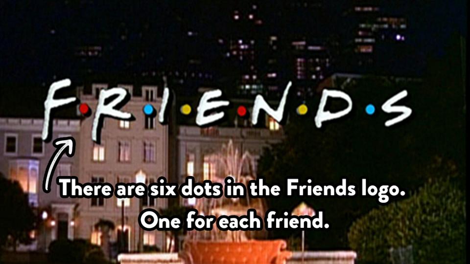 friends logo facts