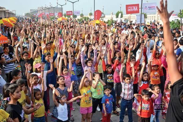 happy streets ahmedabad