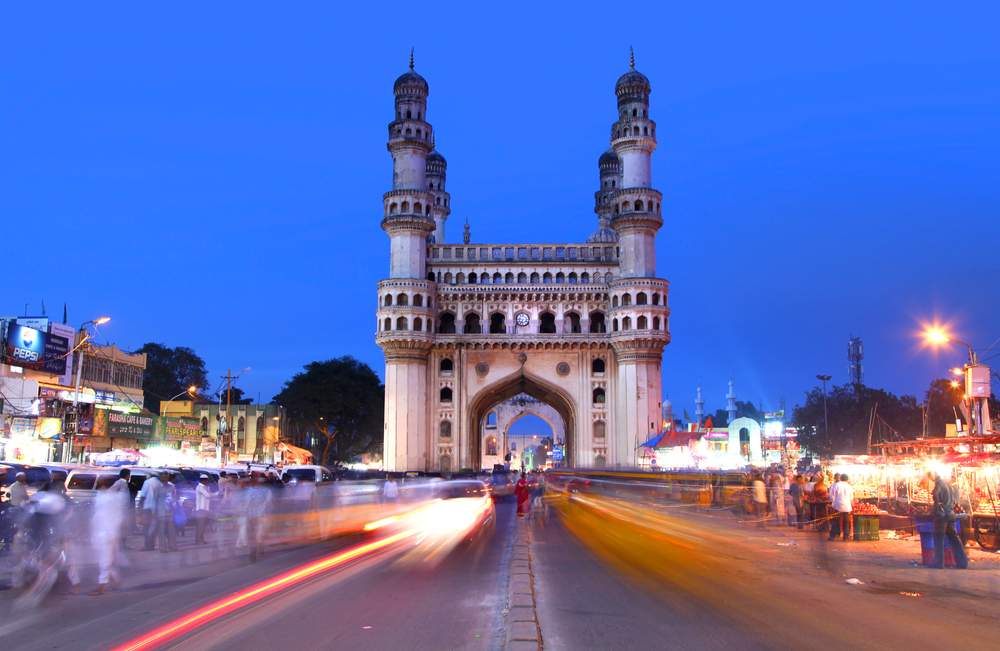 Hyderabad is a tinsel modern city of swanky malls along with super smooth roads