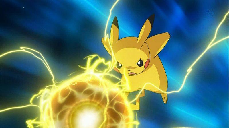 pikachu thunder storm