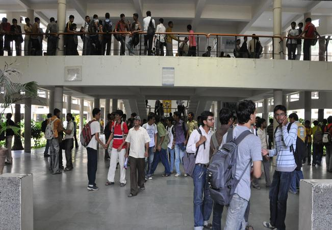 vidyanagar has more number of students then local people