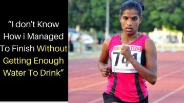Indian Officials At Rio Olympics Provided No Water To Marathon Runner Jaisha, Who Fainted At Finish Line