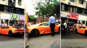 BJP MLA's Wife Gets A Lamborghini, Crashes It Into An Autorickshaw Just 30 Minutes Later