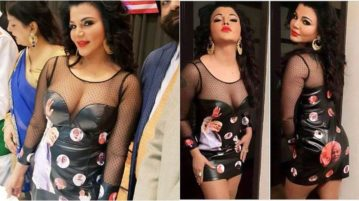 Rakhi Sawant Wears Modi's Face On Her butt To Grab Media Attention