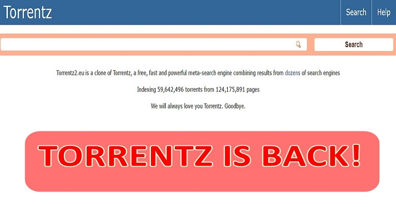 Torrentz Is Back As Torrentz2.eu After Being Forced Off The Internet
