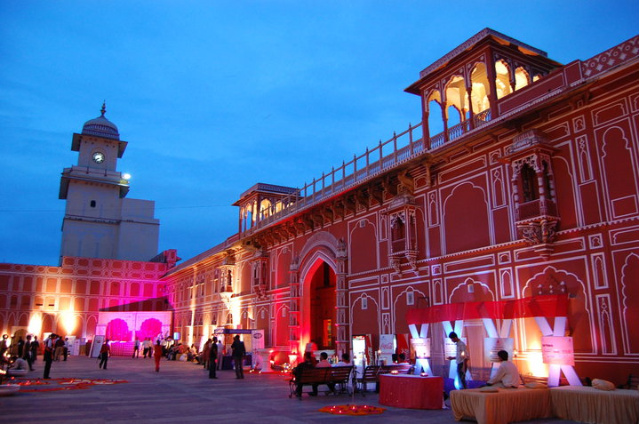 pink city jaipur photo