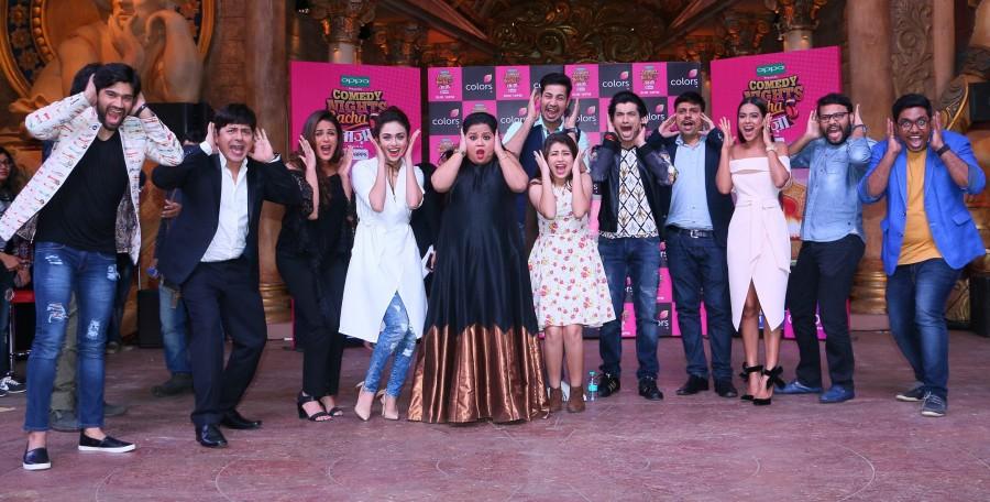 Vadodara's Former RJ Manan Desai is a part of Comedy Nights Bachao Team!